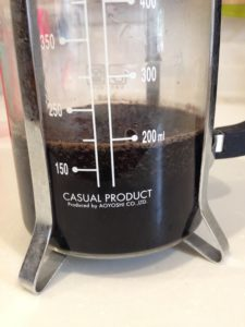 これがコーヒープレス